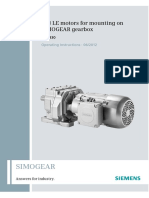 SIMOGEAR Installation and Operating Instructions - Motor4_9