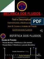 MecFlu09 Escala e Unidades de Pressão Estatica Dos Fluidos
