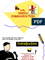 1. Speech Communication