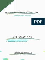 Presentasi Transportasi Daerah Dan Kota