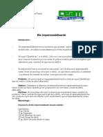 Bioimpermeabilizante