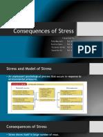 Organizational Behavior- Concequences of Stress