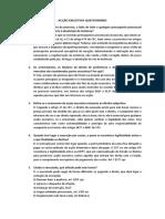 Acção Executiva Questionário Faro