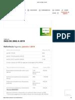 INSS de 2002 a 2019