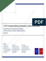 IB Comp Survey - May 2018