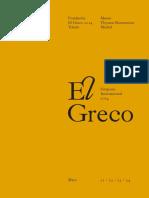 Actas El Greco