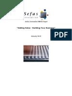 Adding Value 2