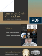 Virtues and Credo of an Architect.pptx