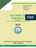 technical journal uet taxila