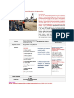 Advance Diploma in Industrial Safety Engineering