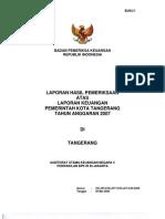07f. LKPD Kota Tangerang 2007