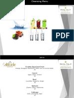 Cleansing Menu Presentation MD 160316