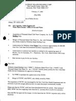 Wellesley Island Holding Corp Aquires Thousand Island Club Water Company, Inc.