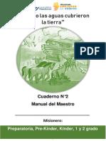 Manual Del Maestro -Cuando Las Aguas Cubrieron La Tierra N2