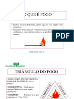 TREINAMENTO BÁSICO COMBATE INCÊNDIO