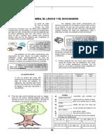 CLASE 14 LA Palabra, El Lexico y El Diccionario