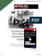 Los grupos - Revista código