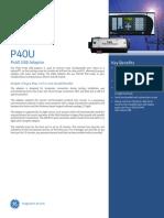 P40U USB Adaptor Brochure En
