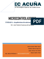 Reporte programacion de microcontroladores