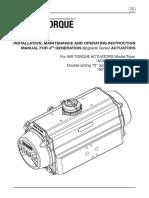 Airtorque Installation Operation Maintenance Manual