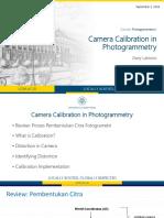 Minggu 3 - Kalibrasi Kamera