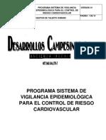 Programa de Vigilancia Epidemiologica Cardiovascular