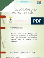 Presentación 1 Introducción a La Parasitología