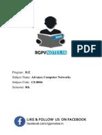 Advance Computer Network