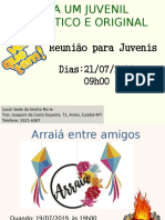convite juvenis