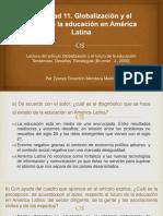 Globalización y el futuro de la educación en América Latina