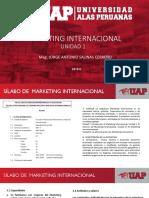 Clases Marketing Internacional UAP 2019