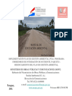 Manual Educacion Ambiental