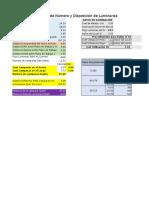 Cálculo de Lamparas y su Disposición.xlsx