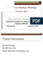 Market Driven Strategic Planning1