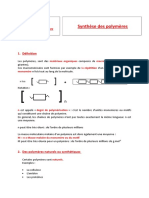 Cours Synthese Polymeres Eleves