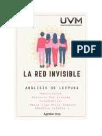 La Red Invisible Análisis de Lectura. Stefania Paz