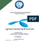Grameen Phone Marketing Mix