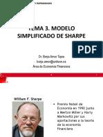Modelo Simplificado de Sharpe