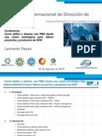Presentación Conferencia PMO Con El Capítulo PMI Panamá