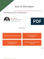 The Principles of Governance Slides