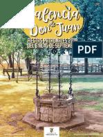 Programa de Fiestas de Valencia de Don Juan 2019