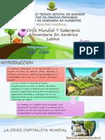 Crisis Mundial Y Soberanía Alimentaria en América Latina