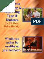 5 Secrets to Preventing & Improving Type II Diabetes