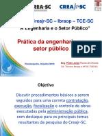 PRÁTICA DE ENGENHARIA NO SETOR PÚBLICO