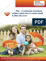SIP Plus Brochure Investor