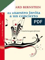 LEONARD BERNSTEIN - El Maestro Invita a Un Concierto. Concierto Para Jóvenes