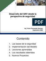 Desarrollo del GNV Desde una vision de la seguridad