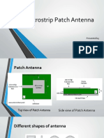 microstrip patch antenna brif intro