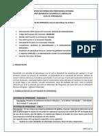 Guía de Aprendizaje Servicios de Aautomatización  Unidad 3