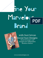 Define Your Marvelous Brand